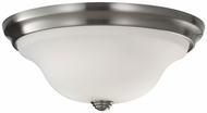 Feiss FM361BS Beckett Contemporary Medium Flush Mount Ceiling Light