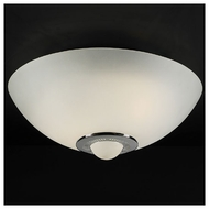 PLC 3542 Andante Small Contemporary Semi-Flush Ceiling Light
