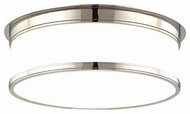 Hudson Valley 715 Geneva Modern Flush-Mount Ceiling Light - 15 inches