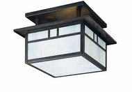 Arroyo Craftsman HCM-12 Huntington Craftsman Flush Mount Ceiling Light - 12 inches wide