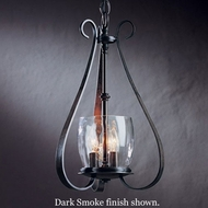 Hubbardton Forge 10-1474 Sweeping Taper 3-Candle Water Glass Foyer Light