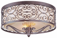 Maxim 21151WHUB Mondrian Traditional Flush Mount Lighting