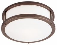 Access 50079 Conga Contemporary 1 Light 12 inch Flushmount Ceiling Fixture