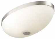 Philips F6067-36 Ovalle Small Contemporary Flush Mount Ceiling Light in Satin Nickel