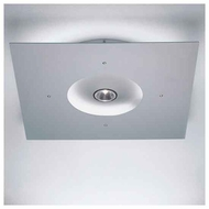 Zaneen D92008 Ixion Square Contemporary Semi-Flush Ceiling Light