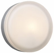 PLC 6572 Metz Large Modern Style Flush-Mount Ceiling/Wall Sconce