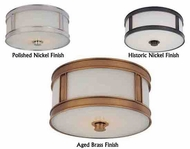 Hudson Valley Patterson Transitional Flush-Mount Ceiling Light
