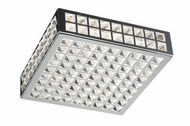 PLC 18187-PC Jewel Flush-Mount Ceiling Fixture - 12 inches wide