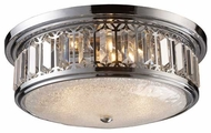 ELK 112273 Lighthouse Large Flush Mount Ceiling Light in Polished Chrome