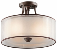 Kichler 42386MIZ Lacey Semi-Flush Ceiling Light