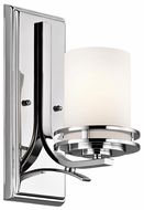 Kichler 5076CH Hendrik Contemporary Wall Lighting