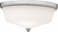 Kichler 8044NI Langford Brushed Nickel Contemporary 2-Light Flush Mount