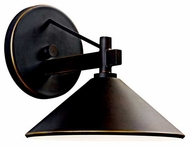 Kichler 49059OZ Ripley Contemporary Small Outdoor Wall Sconce in Olde Bronze