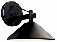 Kichler 49060OZ Ripley Contemporary Outdoor Wall Sconce in Olde Bronze