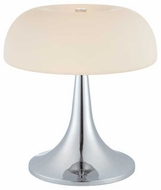 Lite Source LS21656CFRO Greta Contemporary Table Light