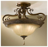 Feiss SF278FSV Celine Semi-Flush Ceiling Light