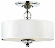 Quoizel DW1717C Downtown Contemporary Semi-Flush Ceiling Light