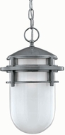 Hinkley 1952HE Reef 1 Light Outdoor Foyer Fixture in Hematite