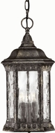 Hinkley 1722BG Regal 3 Light Traditional Outdoor Foyer Fixture
