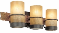 Troy B1843BB Bamboo 3 Light Wall / Vanity Fixture