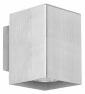EGLO 87018A Madras 4 Inch Tall Modern Wall Sconce Light Fixture - Aluminum