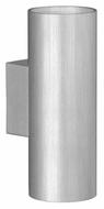 EGLO 87327A Ono Large 6 Inch Tall Aluminum Finish Transitional Lamp Sconce