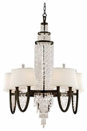 Corbett 130010 Viceroy 10-Lamp Crystal Chandelier in Royal Bronze