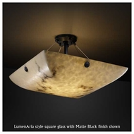 Justice Design 9652 Finial 24  Contemporary Semi-Flush Ceiling Light