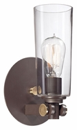 Quoizel UPEV8701WT Uptown East Village 11 Inch Tall Western Bronze Contemporary Lighting Sconce