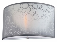 Lite Source LS16842 Lola II Modern Chrome Finish Wall Light Fixture - 11 Inches Wide