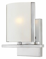 Lite Source LS16291C/FRO Panchali 7 Inch Tall Modern Style Wall Light Fixture - Chrome