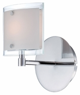 Lite Source LS16351 Icety 8 Inch Tall Chrome Finish Contemporary Wall Lighting Sconce
