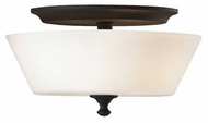 Feiss FM354BK Peyton Flush Mount Ceiling Light