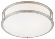 Access 50081 Conga Contemporary 1 Light 19 inch Flushmount Ceiling Fixture