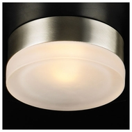 PLC 6571 Metz Small Modern Style Flush-Mount Ceiling/Wall Sconce