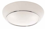 Artcraft AC2152 Arcraft Large Contemporary Flush-Mount Ceiling Light with Chrome