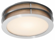 Access 50130 Iron Contemporary Flush Mount Ceiling Light - 12 inches
