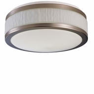 AFX FUF213SNEC Fusion Fluorescent 12.5 inch Diameter Flush-Mount Ceiling Light