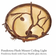 Kalco 9177 Ponderosa Outdoor Flush Mount Ceiling Light