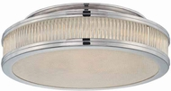 Sonneman 1978 Rivoli Contemporary FlushMount Ceiling Light 16  diameter