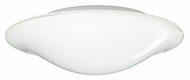 Besa 1CS909539 Luma Slim Small Fluorescent Flush Mount Ceiling or Wall Light
