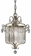 Feiss F2473-1GS Gianna Pendant Light / Semi-Flush Ceiling Light