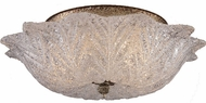 ELK 1515-2 Providence 16 inch Antique Silver Leaf Semi-Flush Ceiling Fixture