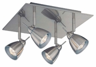 Lite Source LS17924 Casara 4-Lamp Modern Flush Ceiling Light