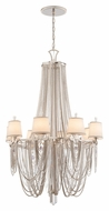 Corbett 157-08 Flirt Crystal Large 38 Inch Diameter 8 Light Large Chandelier