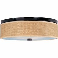 ET2 E95004 Elements Large Round Contemporary 20  Ringed Flush Mount Ceiling Light