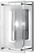 Lite Source LS1385CCLR Wick Contemporary Chrome Wall Sconce Fixture