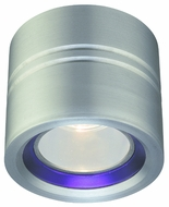 CSL SS1015A-SA Entity Modern Ceiling Light with Blue Conical Glass