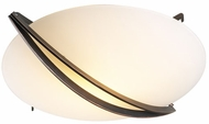 PLC Enzo Halogen Ceiling Light in Oil Rubbed Brass