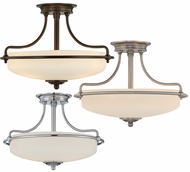 Quoizel GF1717 Griffin Small Semi-Flush Ceiling Light